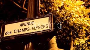 -Avenue des Champs-Elysees in Paris