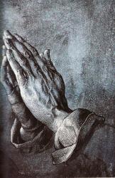 Dürer_ Imádkozó kéz.